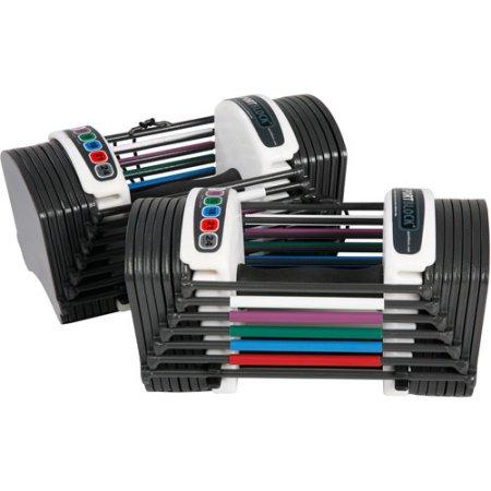 PowerBlock Sport 24 dumbbell set for $100