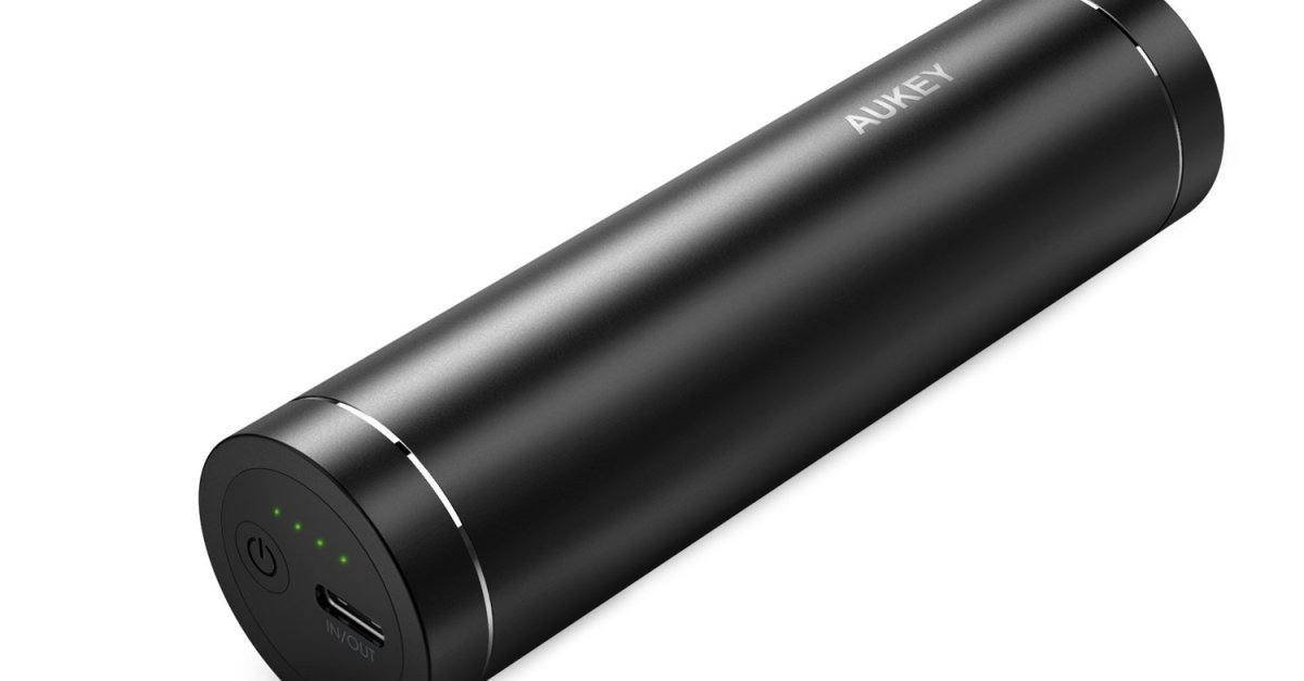 AUKEY 5000mAh USB-C universal power bank for $10