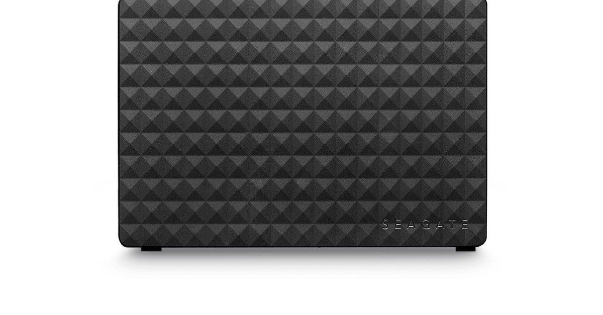 Price drop! Seagate 8TB desktop external hard drive for $139