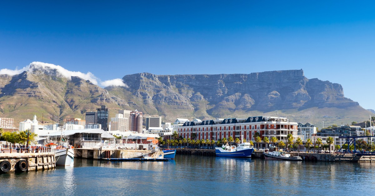 Round-trip flights to Cape Town in the $600s