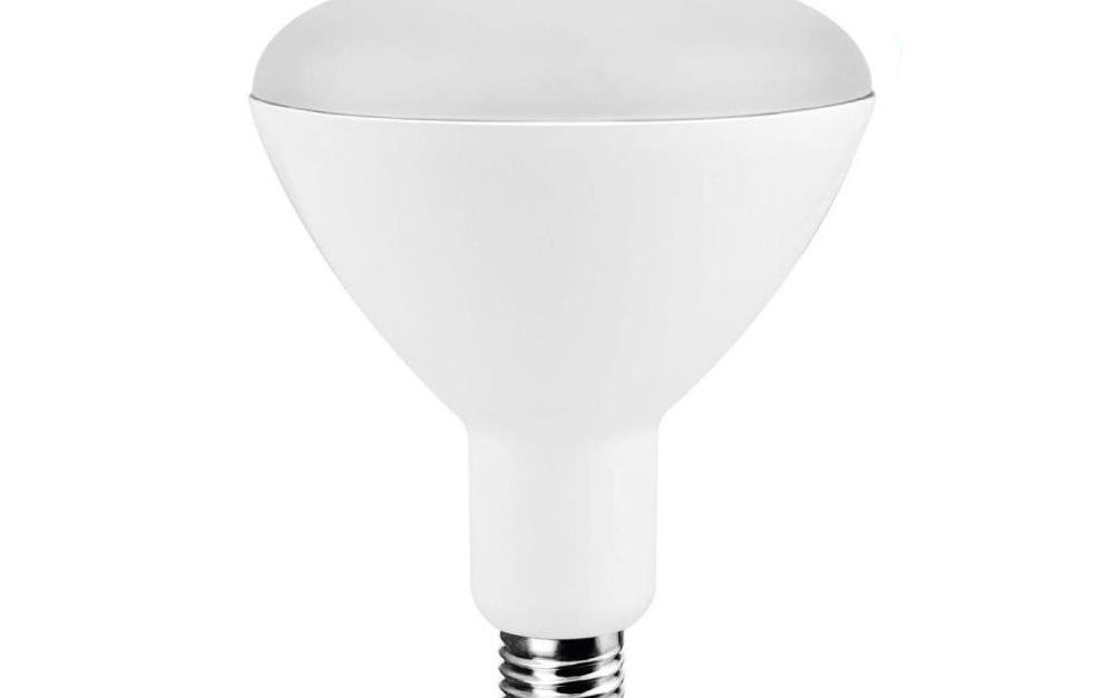 4-pack Ecosmart 65-watt equivalent BR30 led light bulbs for $7