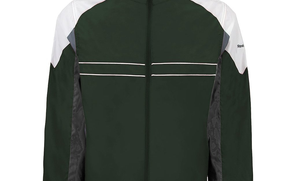 Reebok men's athletic performance jacket for $15, free shipping