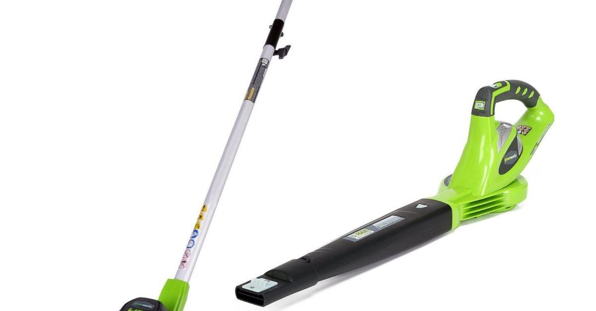 Greenworks 40V blower & string trimmer combo for $100
