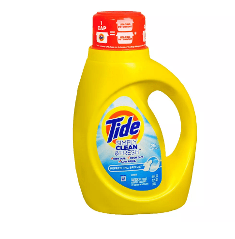 Tide 40-oz liquid laundry detergent from $2
