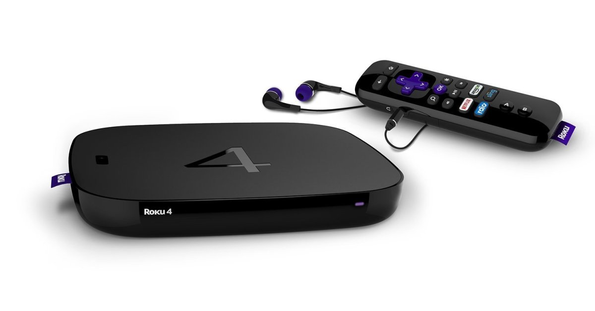 Today only: Refurbished Roku 4k/UHD streaming media player for $54