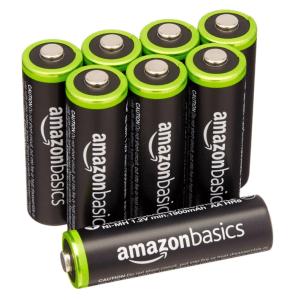 AmazonBasics AA batteries