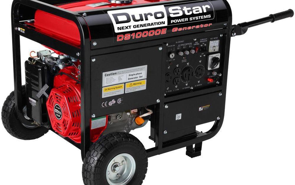 Durostar 10,000-watt gas-powered portable generator for $699