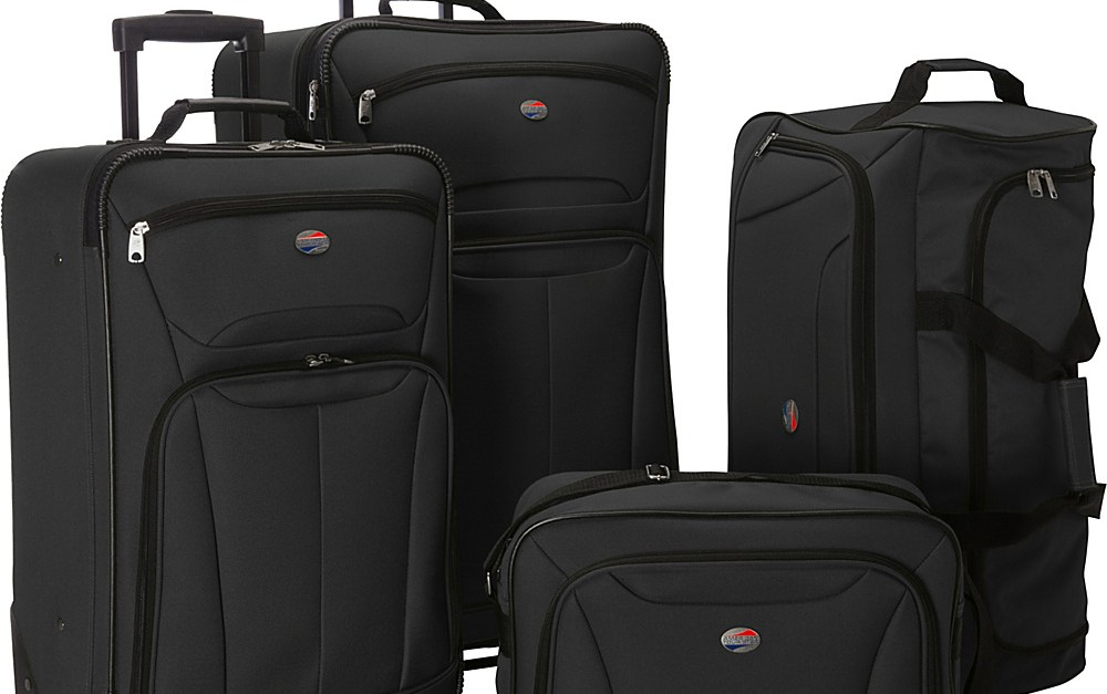 American Tourister Fieldbrook II 4-piece luggage set for $70, free shipping
