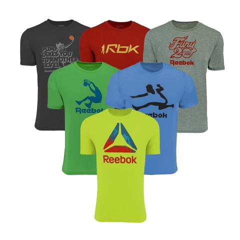 3-pack Reebok men's mystery t-shirts for $25, free shipping