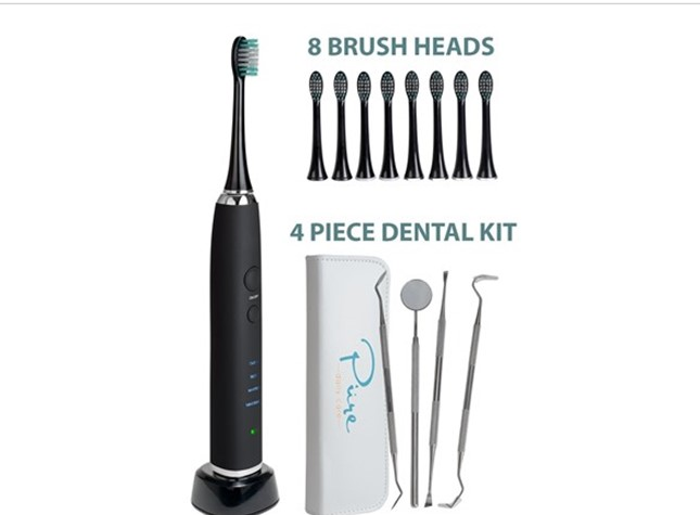 Today only: AquaSonic Black Series Ultrasonic whitening toothbrush for $30