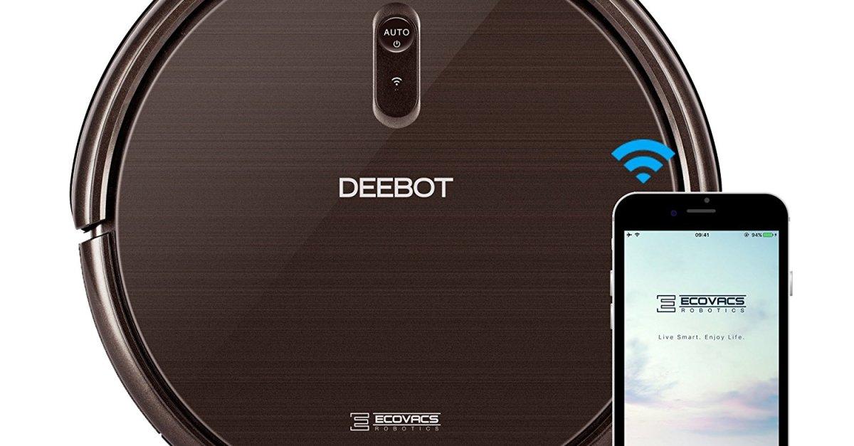 Ecovacs Deebot N79SE robot vacuum cleaner for $150