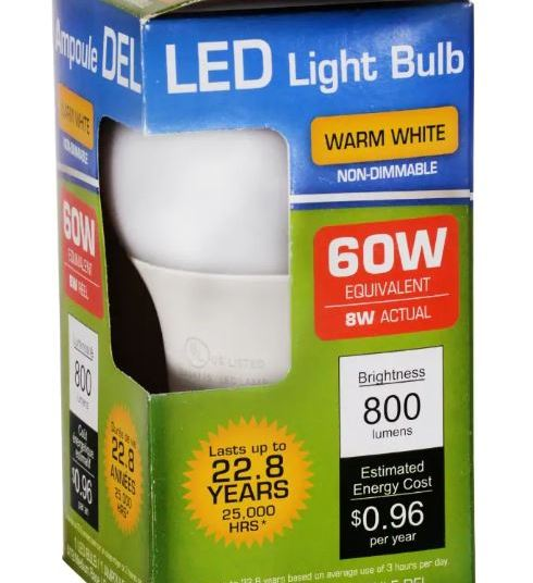 In store: LED light bulbs for $1 at Dollar Tree