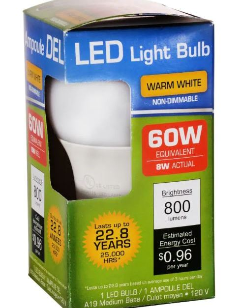 🔥 In store: LED light bulbs for $1 at Dollar Tree