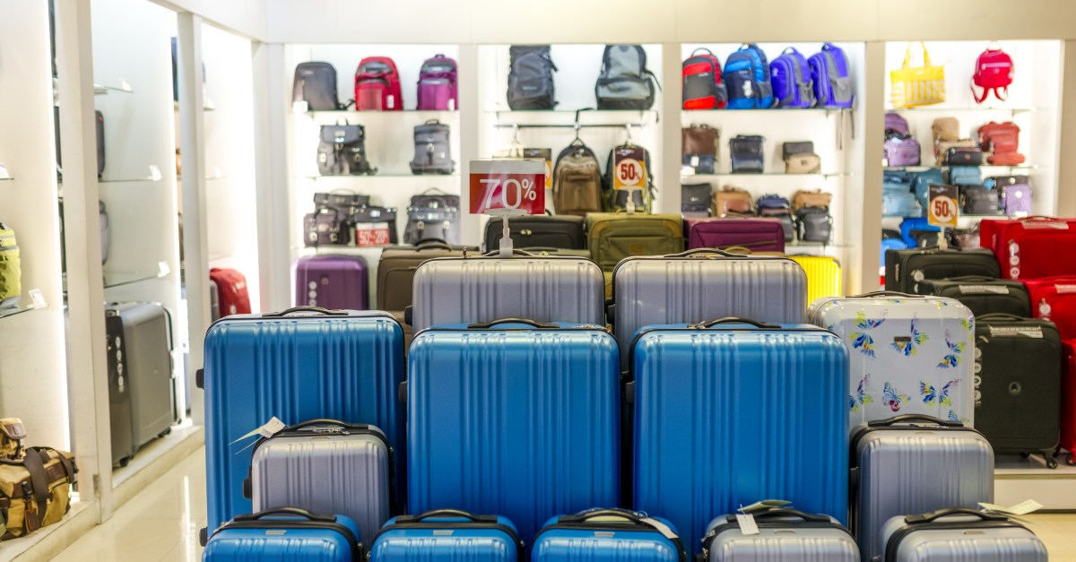 7 stores to find the best deal on luggage