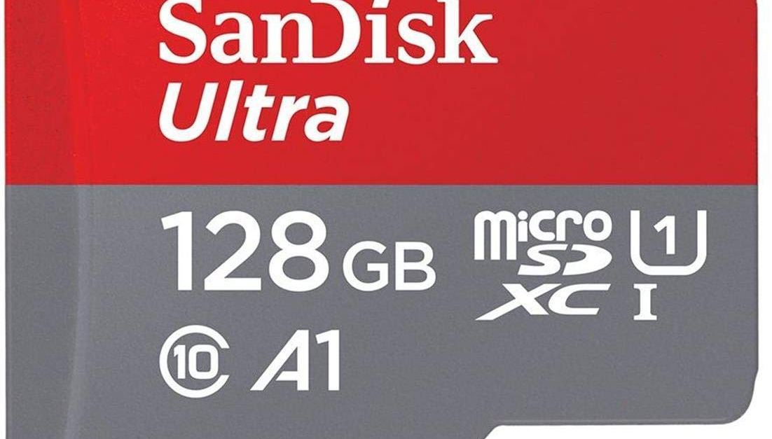 Price drop! 128GB SanDisk Ultra microSDXC memory card with adapter for $25