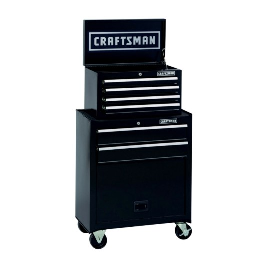 Craftsman 6-drawer rolling tool cabinet for $129