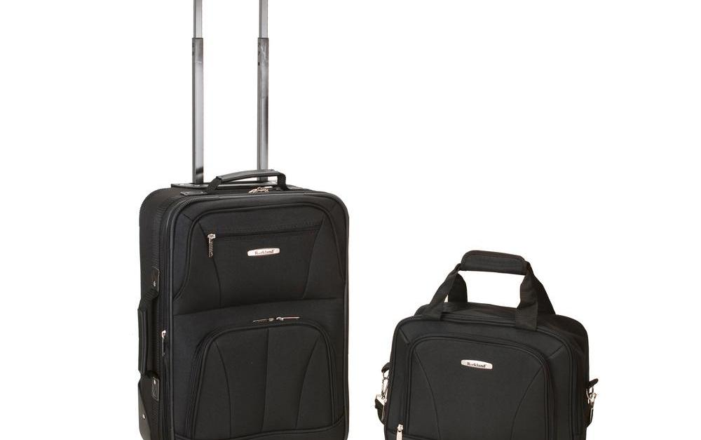 Rockland 2-piece polyester luggage set from $28