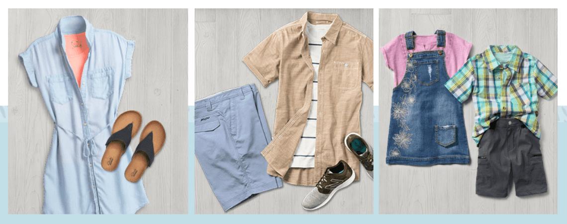 Spring casual apparel starting at just $3.50 at Sierra Trading Post