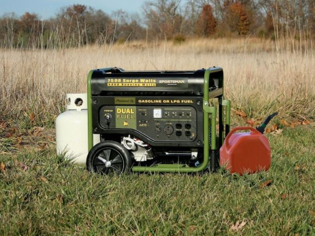 Today only: Sportsman 7,500-watt dual fuel-powered portable generator for $619
