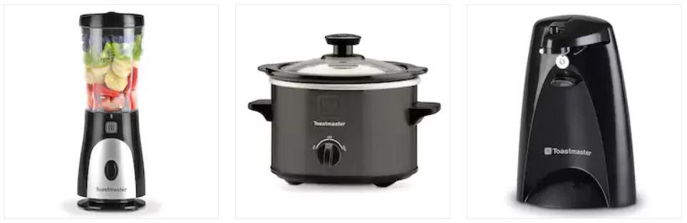 3 Toastmaster appliances for $6 42 + $10 Kohl's Cash - Clark