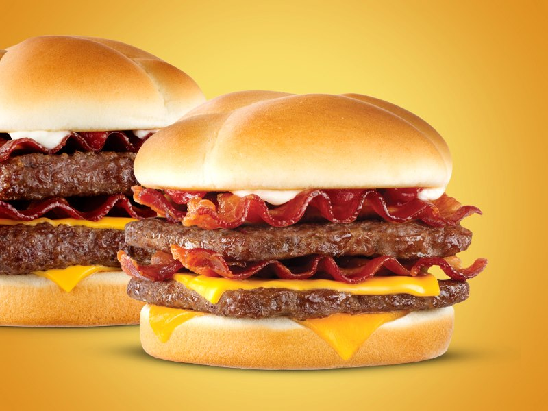 Wendy's: Save 50% on a Baconator Cheeseburger or get free Baconator fries