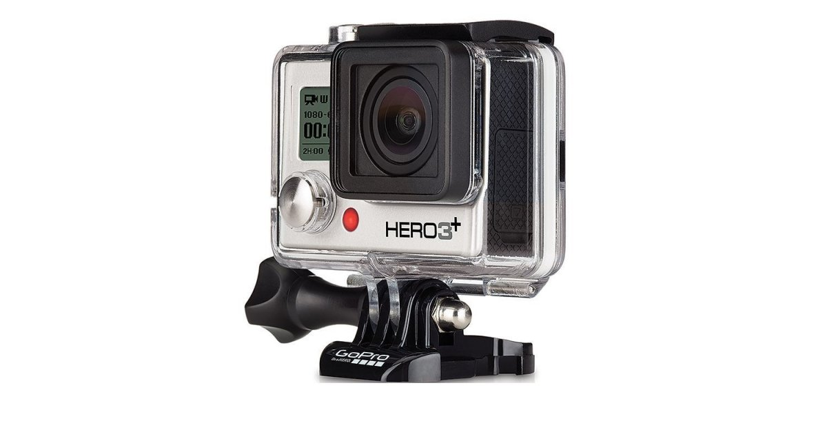 Today only: Refurbished GoPro Hero3+ silver waterproof camera for $85