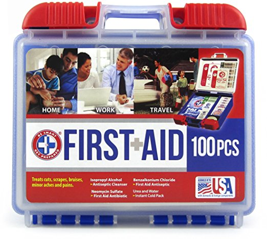 100-piece first aid kit for $9 as add-on item
