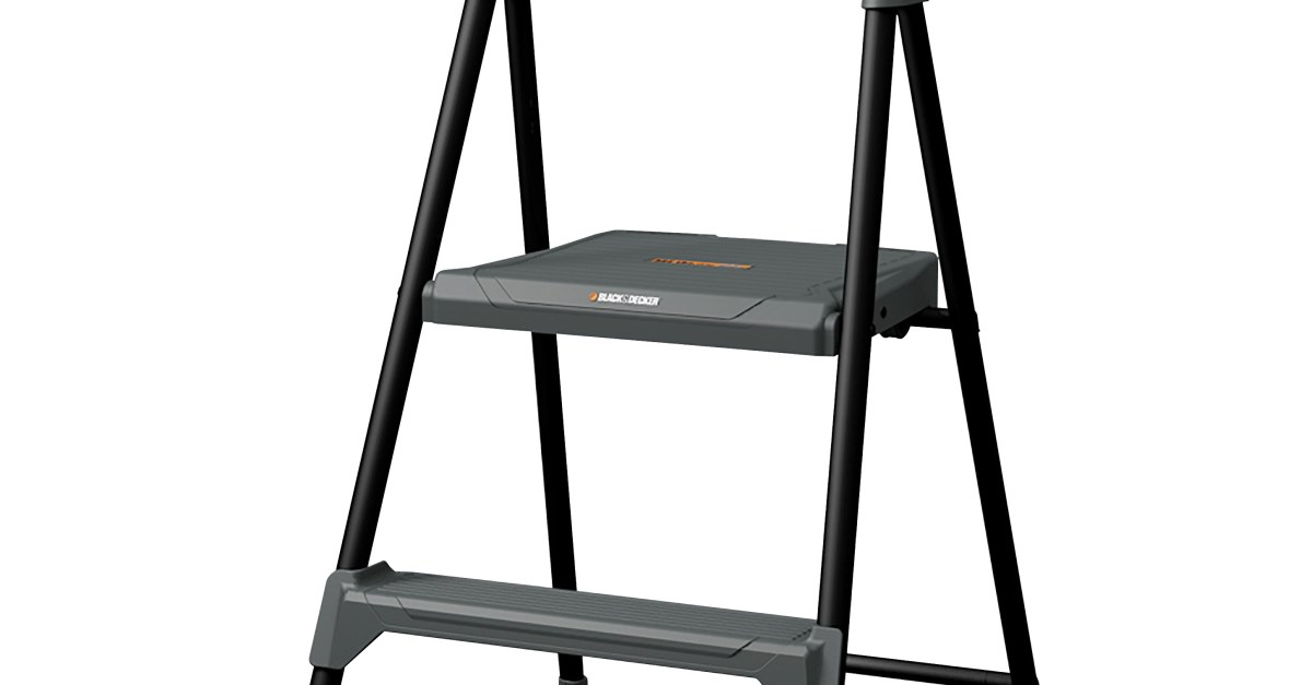 Louisville 2′ steel step stool for $22