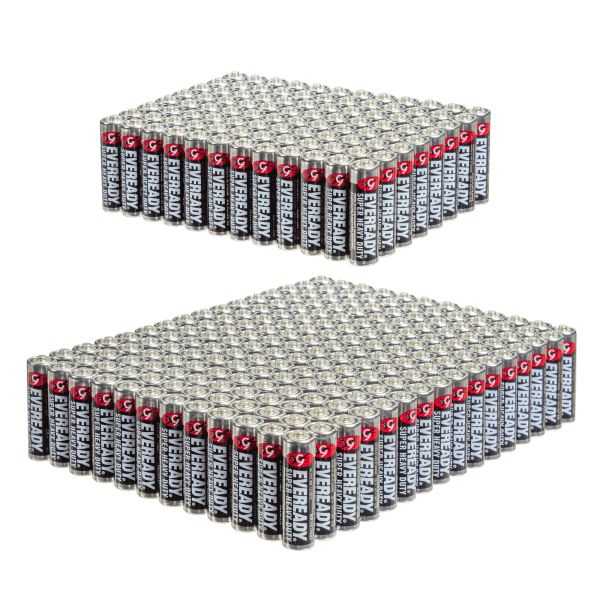 Today only: 96-pack of AA batteries for $20 or 192 for $30