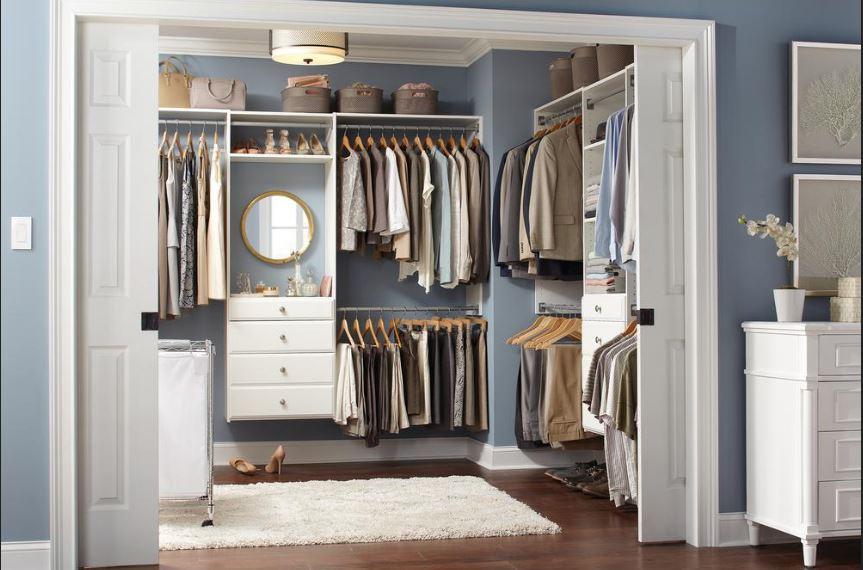 Today only: Save 30% on select Martha Stewart closet organization kits