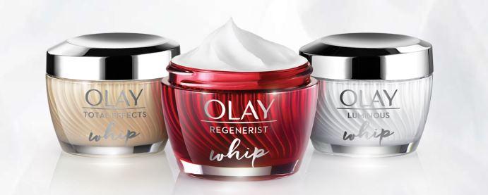 Free sample of new Olay Regenerist Whips