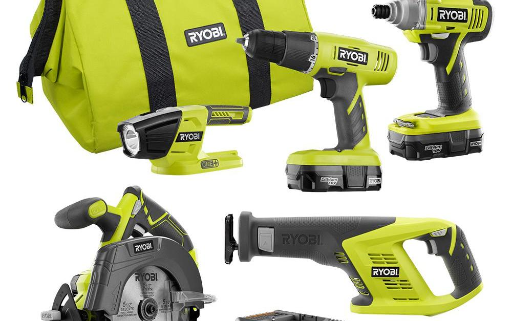 Today only: Save up to $100 on select Ryobi tool sets