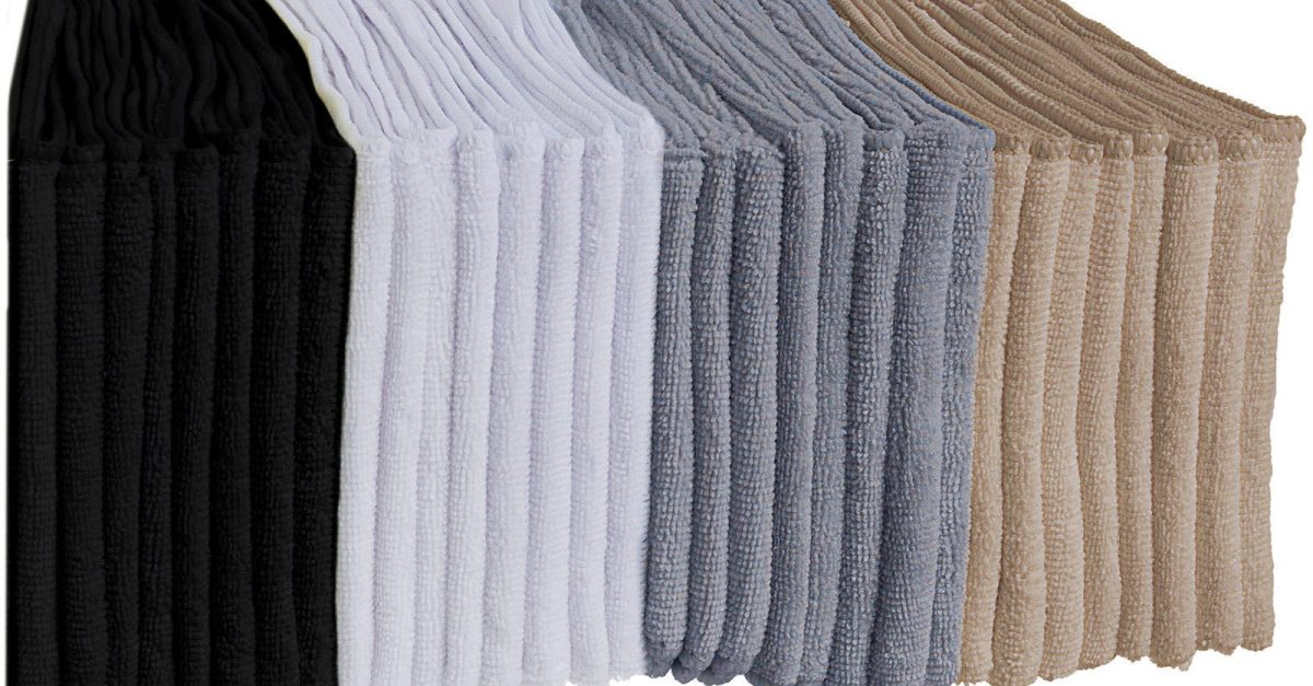 64 microfiber cleaning cloths for $17