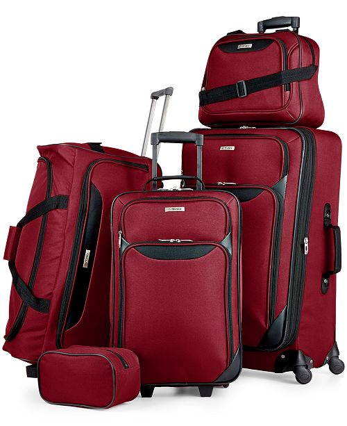 Ends soon! Tag Springfield III 5-piece luggage set for $60, free shipping