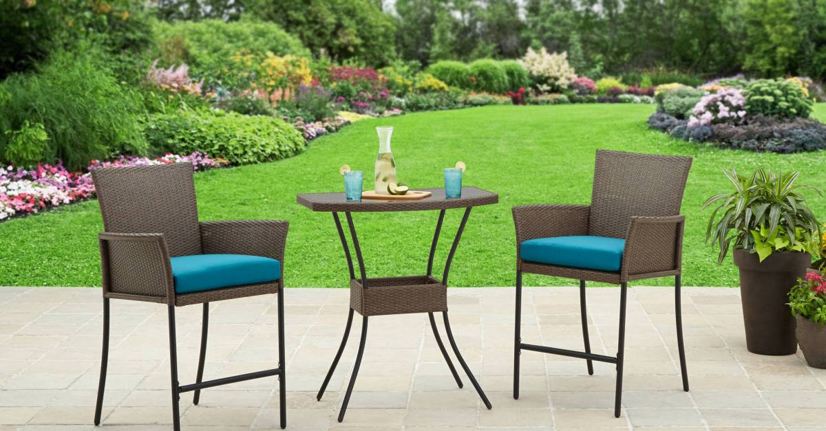 Price drop! Better Homes and Gardens Fairfield Bay 3-piece balcony bistro set for $125