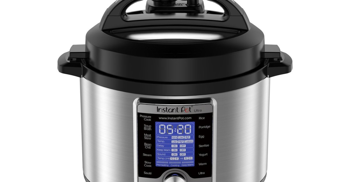 Prime members: Instant Pot Ultra 3-qt 10-in-1 multi-use programmable pressure cooker for $50