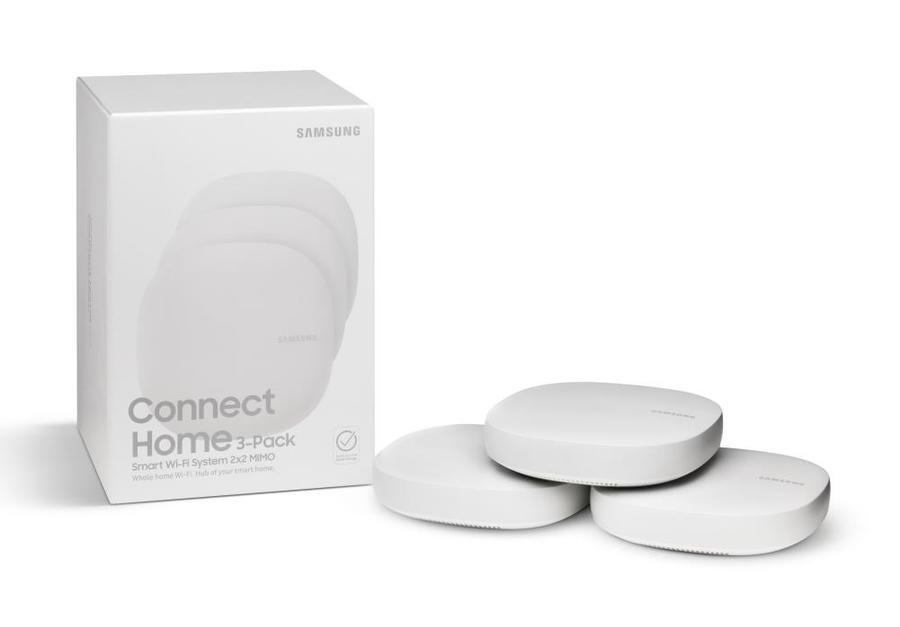 Today only: Samsung Connect Home smart Wi-Fi system 3-pack for $90