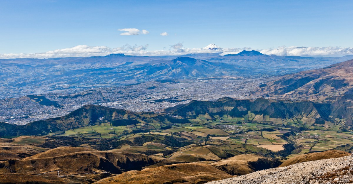 Flights to Quito in the $300s & $400s round-trip!
