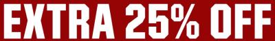 extra 25 off