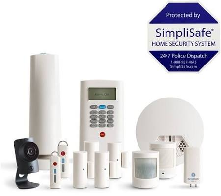 Today only: SimpliSafe 13-piece home security system with HD camera & smoke detector for $305