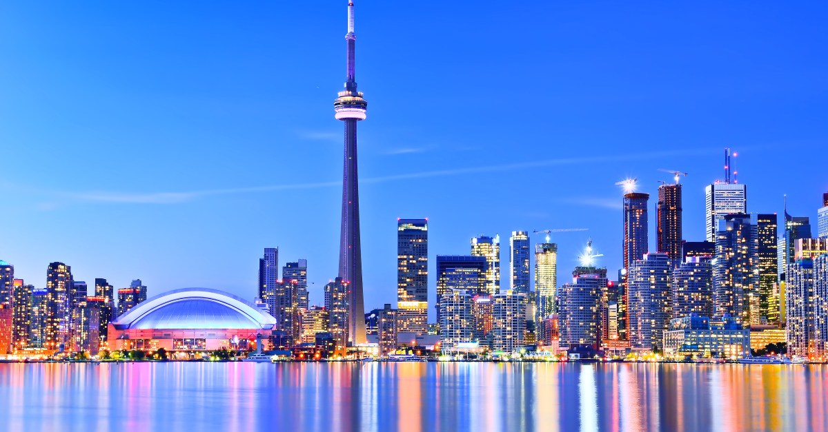 Nationwide flights to Toronto in the $200s round-trip