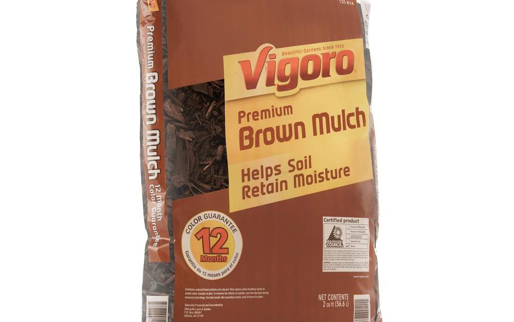 Vigoro 2-cu. ft. bags of mulch for $2