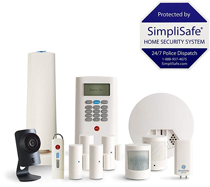 Today only: SimpliSafe 12-piece security system for $200