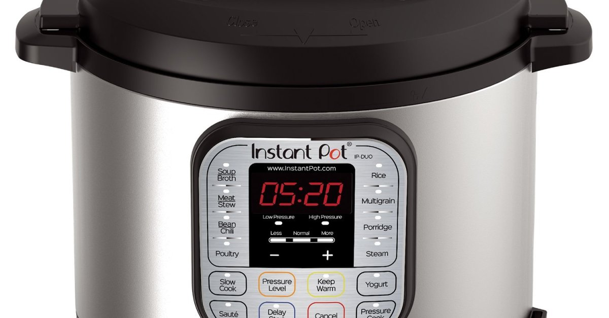 Instant Pot DUO60 7-in-1 electric pressure cooker for $50