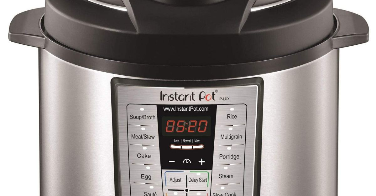 Cheaper than Prime Day! Instant Pot 6-quart 6-in-1 pressure cooker for $49