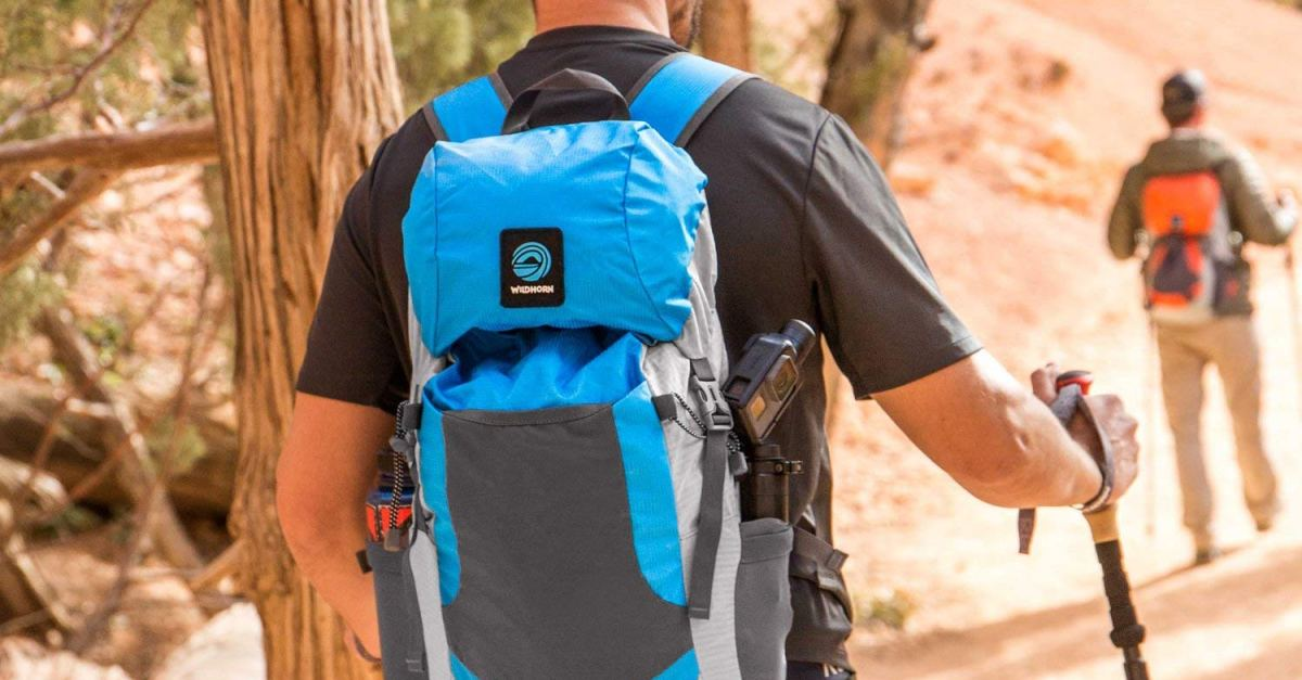 Today only: WildHorn Outfitters hiking backpack for $18