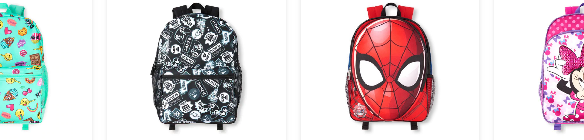 The Children's Place: Kid's backpacks from $10, free shipping