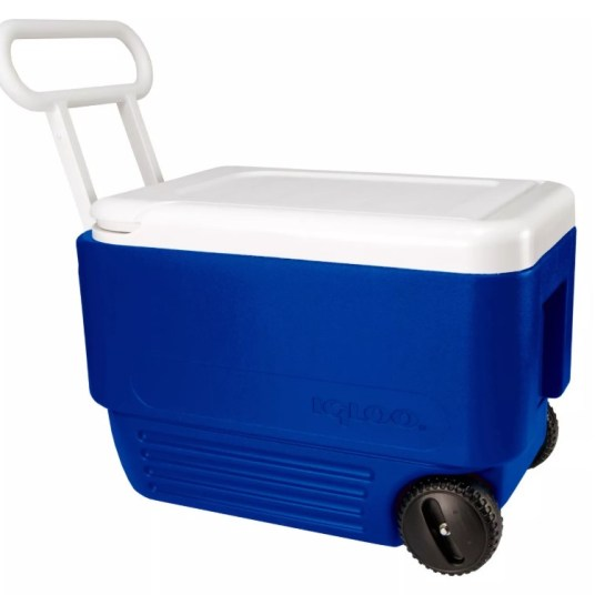 Igloo 38-quart Wheelie Cool cooler for $20