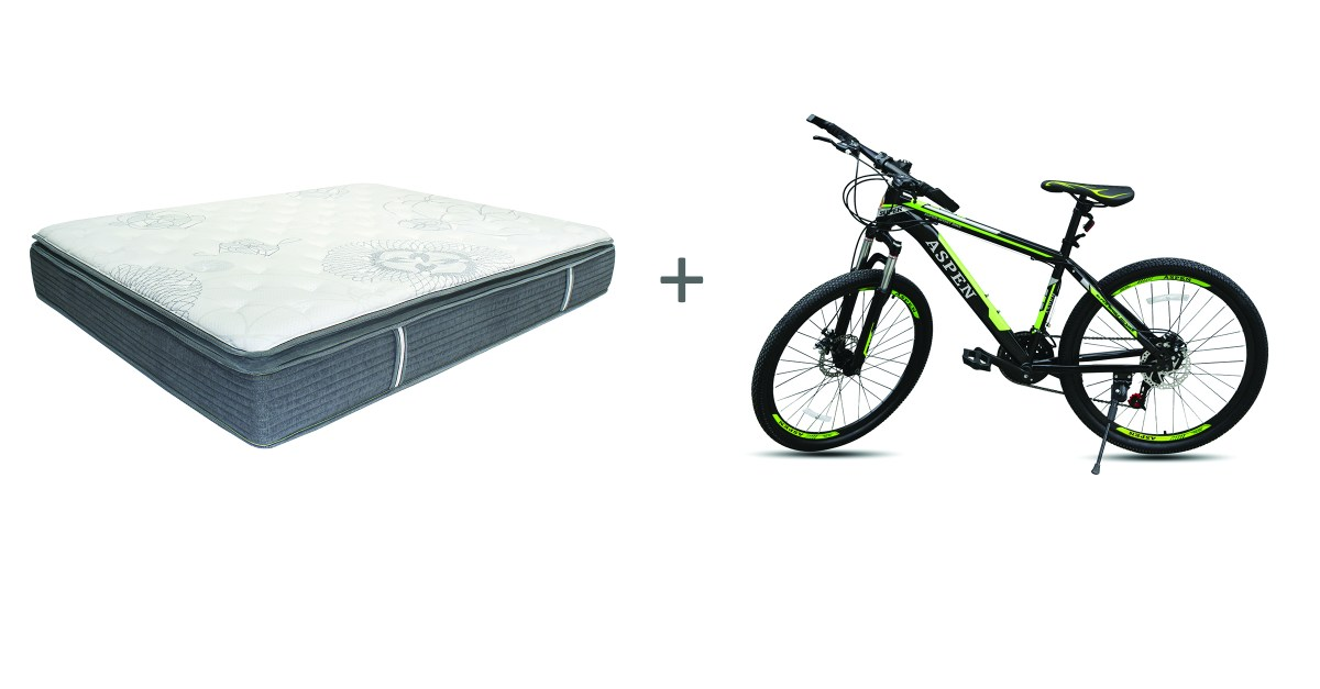 Primo 10″ mattress with free bike from $264