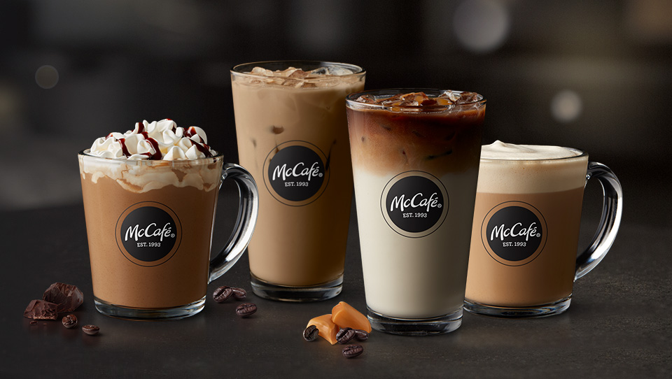 Buy one medium or large McCafé, get one for $0.01